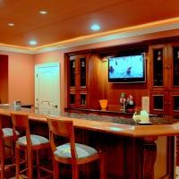 basement bar installation in haymarket va