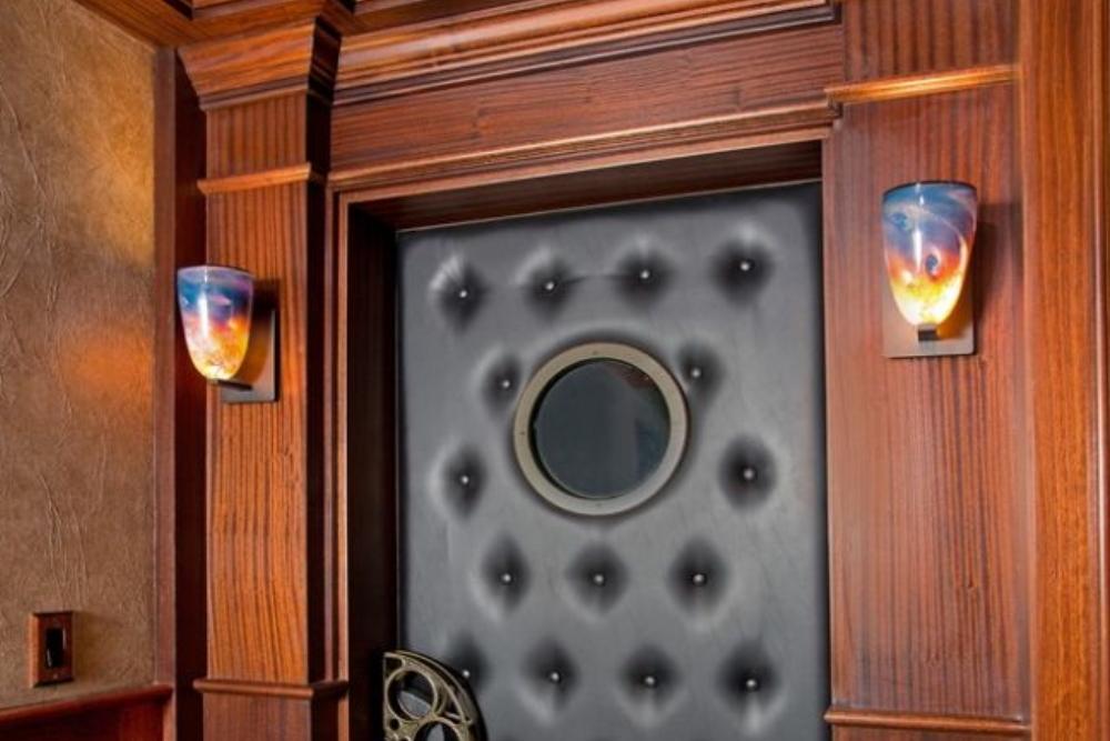 Luxury Basement Remodel In Clifton Va By Berriz Design