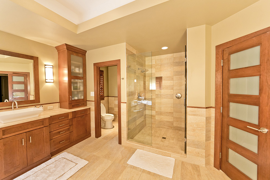 Complete Master Bath Reframing in Oakton, VA