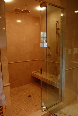 Expanded master bathroom in falls church va by berriz design build group for Bathroom remodeler falls church va
