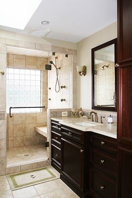 Full Master Bathroom Remodel In Oakhill VA By Berriz Design Build Group Best Bathroom Remodeling Va Collection