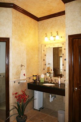 Pool House Bathroom in Leesburg, VA