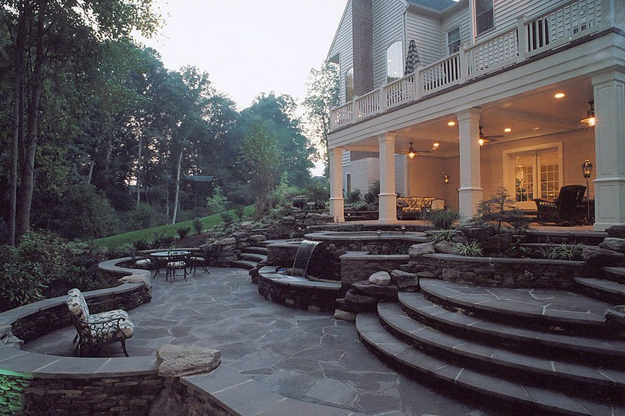 deck and exterior remodeling in vienna