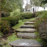 exterior stone staircase in vienna va