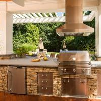 outdoor kitchen installation in oakton