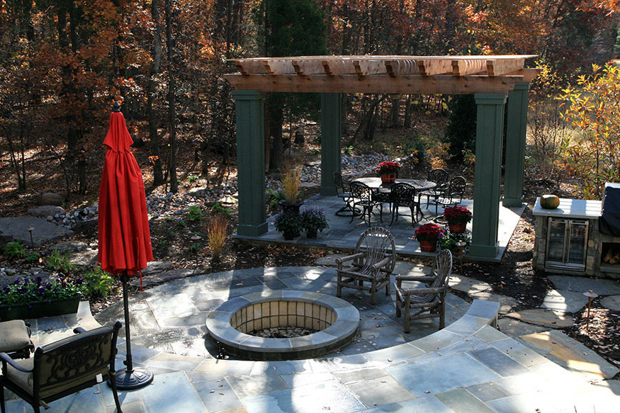 Flagstone Patio Construction in Gainesville, VA