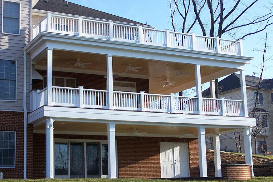 Wraparound IPE Deck Installation in Great Falls, VA