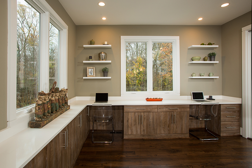 Custom Countertop and Cabinetry in McLean, VA