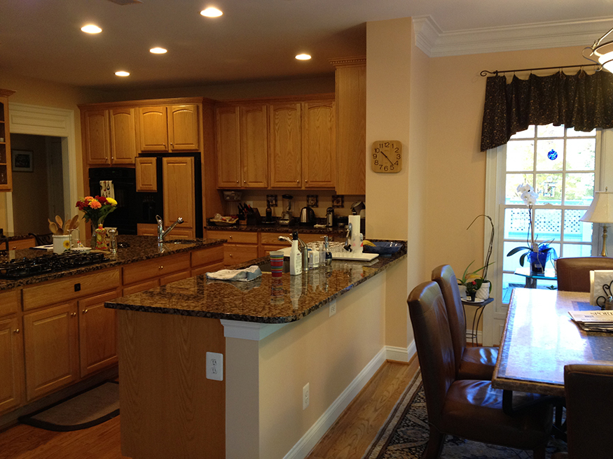 Custom Kitchen Design in Oakton, VA
