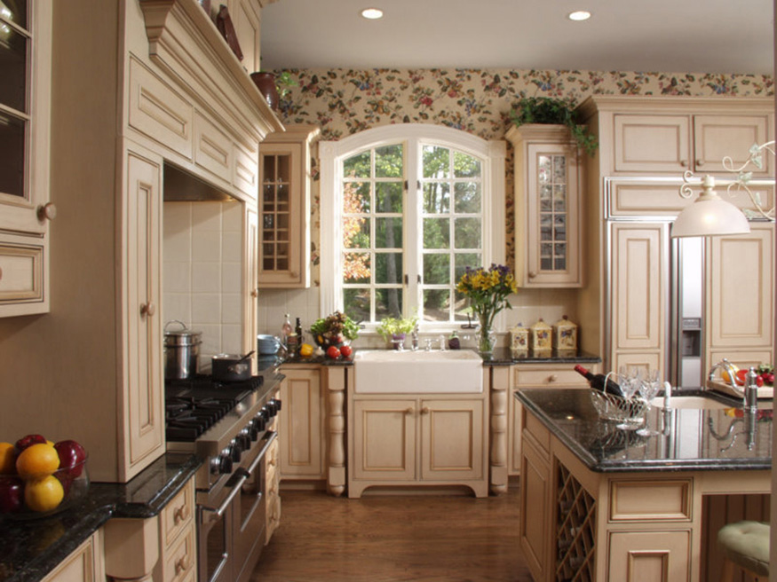 French Country Style Kitchen Installation in Gainesville, VA