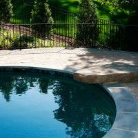 custom pool feature in oakton va