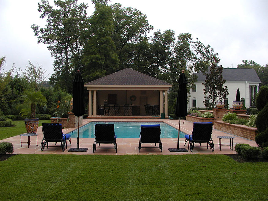 Outdoor Bar Landscape Remodeling in Gainesville, VA