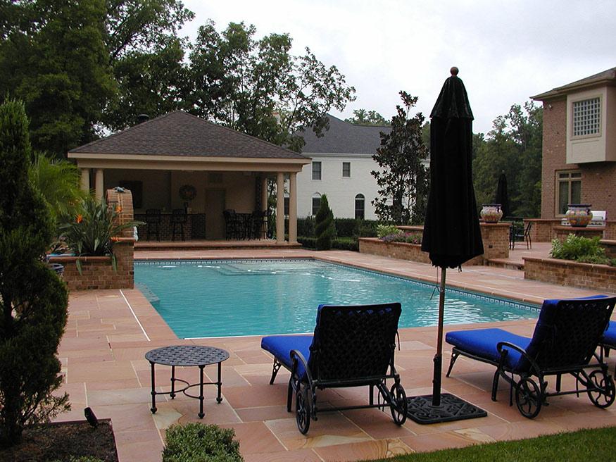 Outdoor Bar Landscape Remodeling in Gainesville, VA