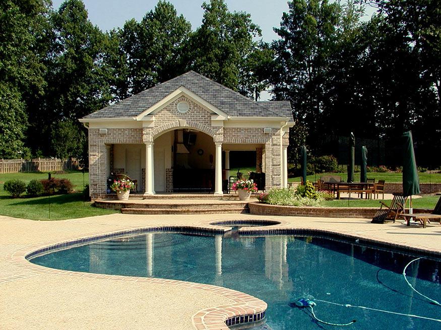 Cabana Freeform Pool in Great Falls, VA