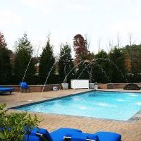 swimming pool at camberley east in oak hill