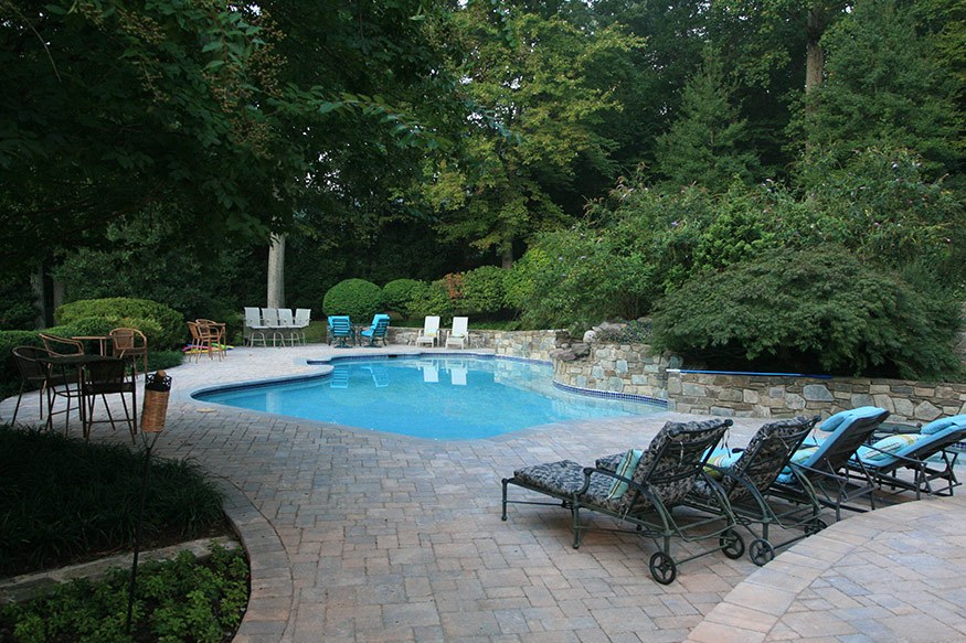 Clifton Park Pool And Outdoor Kitchen Installation