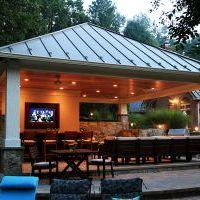 outdoor bar in clifton park va