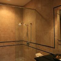 pool house shower in clifton park
