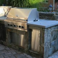 outdoor kitchen in clifton park
