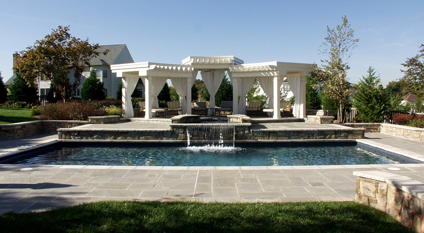 Pool Pergola Installation in Herndon, VA