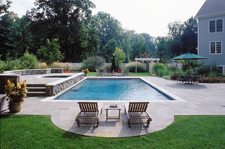 Swimming Pool Installation in Great Falls, VA