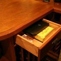 wine cellar cigar drawers