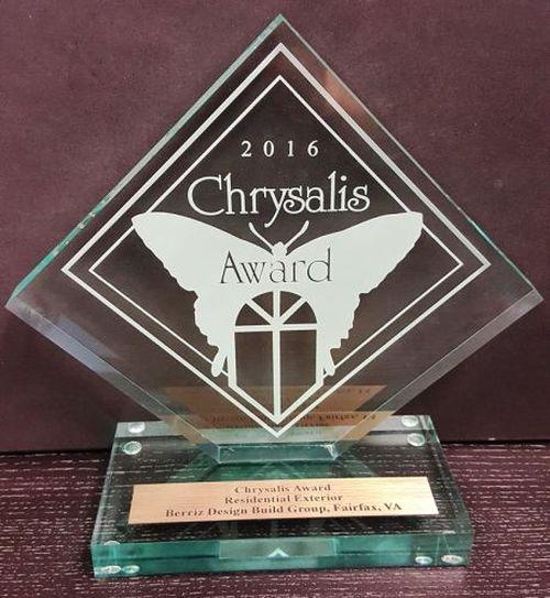 2016 chrysalis award exterior