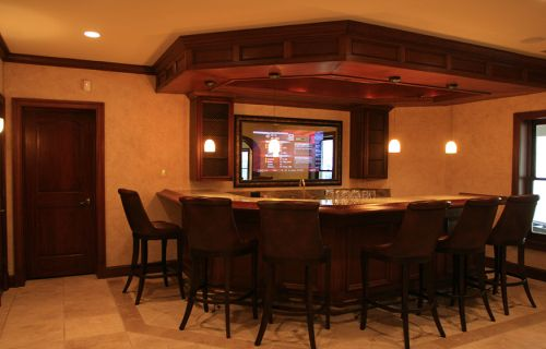luxury basement remodel