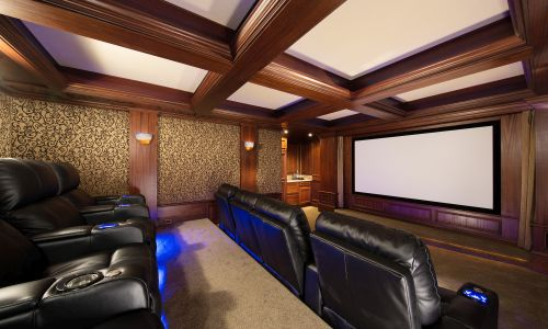Is Designing A Custom Home Theater Part Of Your Interior Remodeling Plans In Northern Virginia Whether To Be Designed Remodeled