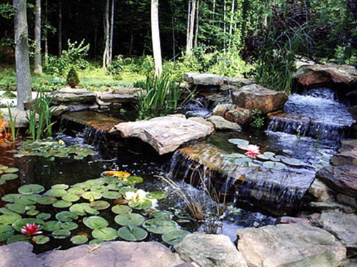 Northern Virginia Custom Fountains and Waterfalls